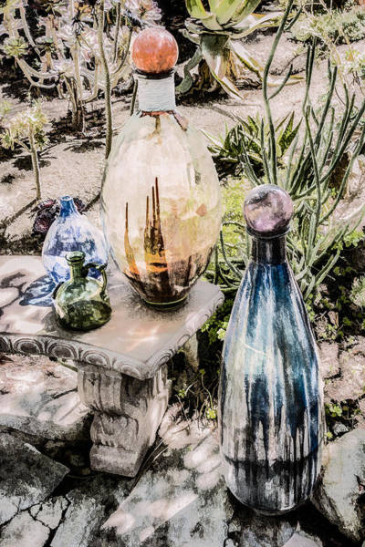 Digital Art - Garden Bottless by Photographic Art by Russel Ray Photos