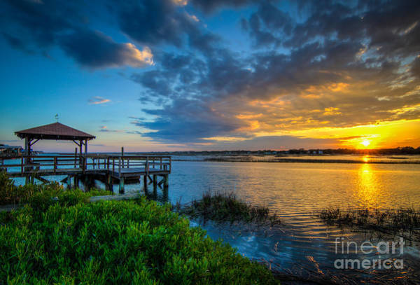 Wall Art - Photograph - Garden City Sunset by Matthew Trudeau