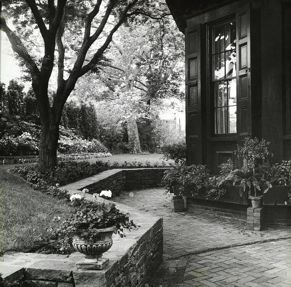 Patio Photograph - Garden Designed By J Duke Moody by Ralph Bailey