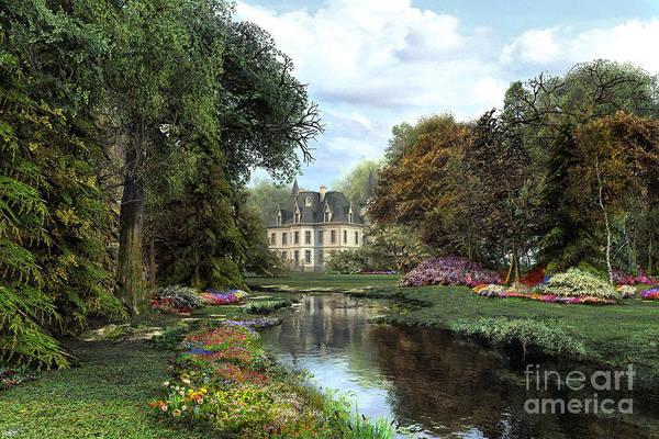 Grass Tree Digital Art - Garden by MGL Meiklejohn Graphics Licensing
