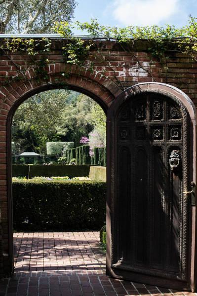 Filoli Photograph - Garden Door At Filoli by Diana Weir