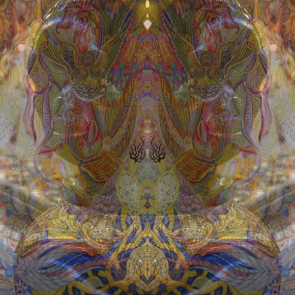 Mixed Media - Garden by Ellie Perla