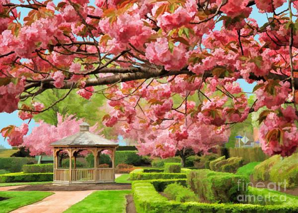 Photograph - Garden Gazebo by Geoff Crego