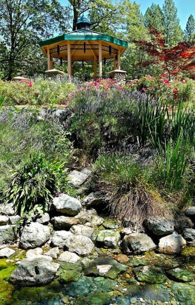 Photograph - Garden Gazebo by Michele Myers