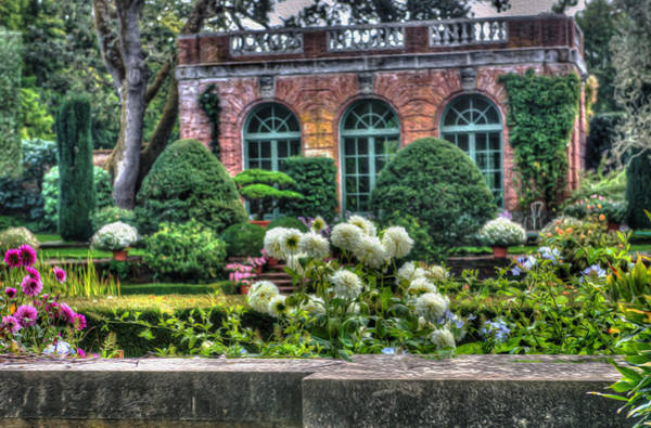Filoli Photograph - Garden House At Filoli by Patricia Dennis
