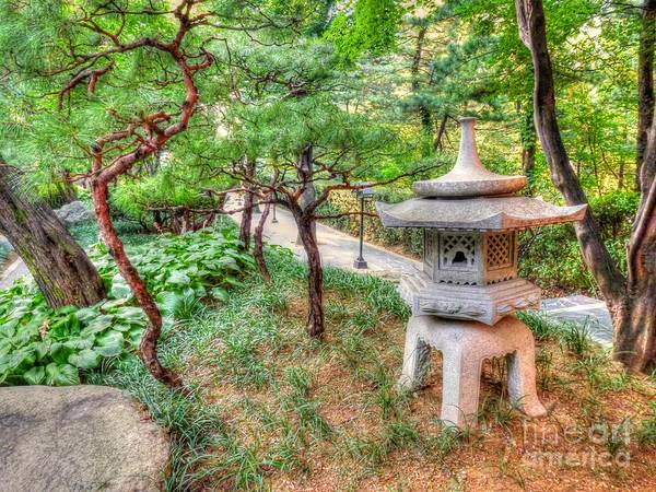 Wall Art - Photograph - Garden Lantern by Michael Garyet