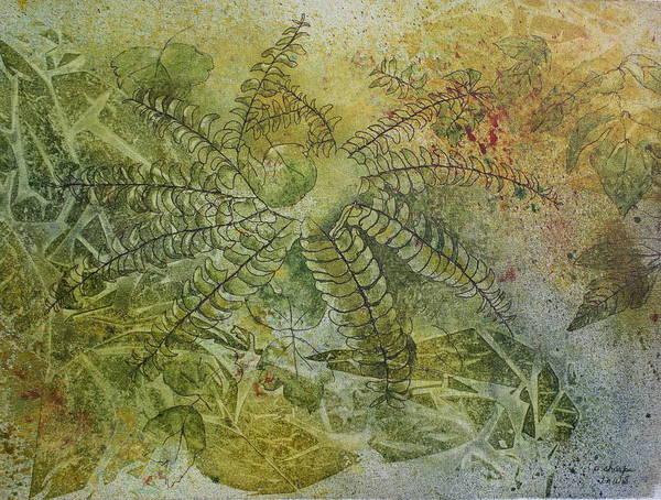 Garden Mist Art Print by Patsy Sharpe