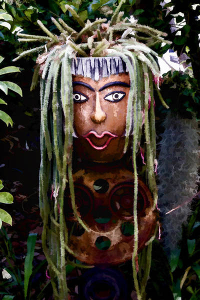 Digital Art - Garden Native by Photographic Art by Russel Ray Photos