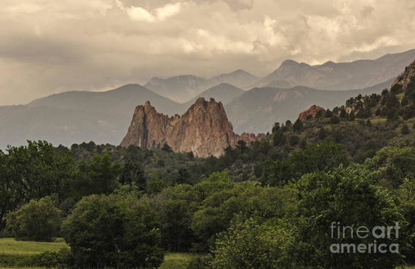 Photograph - Garden Of Gods Rock Formation by David Waldrop