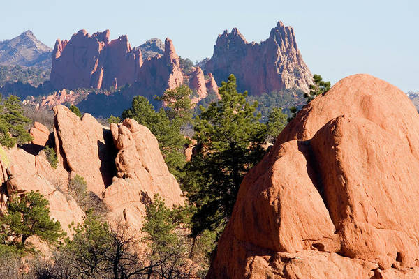 Red Bluff Photograph - Garden Of The Gods And Red Rocks Open by Swkrullimaging