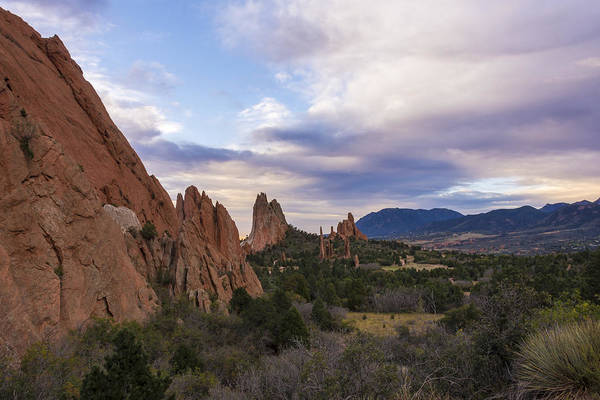 Wall Art - Photograph - Garden Of The Gods At Sunrise - Colorado Springs by Brian Harig