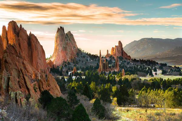 Wall Art - Photograph - Garden Of The Gods In Colorado Springs by Ellie Teramoto