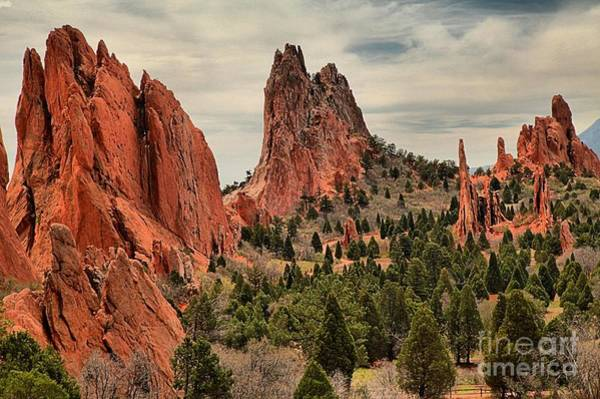 Photograph - Garden Of The Gods Jagged Peaks by Adam Jewell