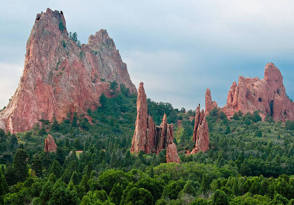 Photograph - Garden Of The Gods by Mae Wertz