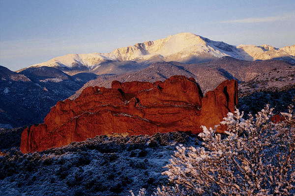 Photograph - Garden Of The Gods by Susie Rieple