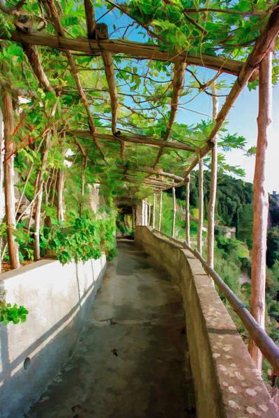Mixed Media - Garden Path by Cliff Wassmann