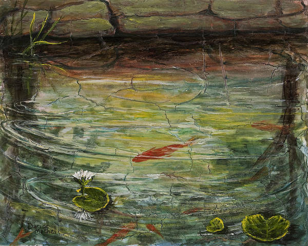Painting - Garden Pond by Darice Machel McGuire
