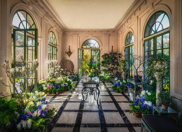 Filoli Photograph - Garden Room Filoli Gardens by Mike  Wilson