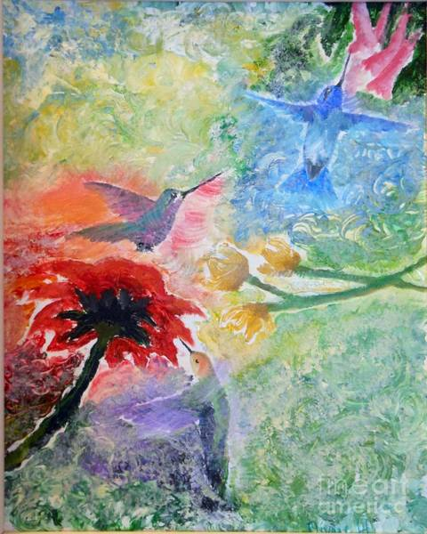 Painting - Garden Song by Pam Halliburton