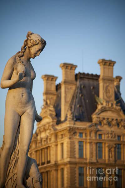 Jardin Des Tuileries Photograph - Garden Statue - Paris by Brian Jannsen