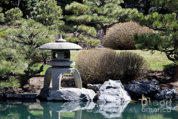 Photograph - Garden Statue by Elle Arden Walby
