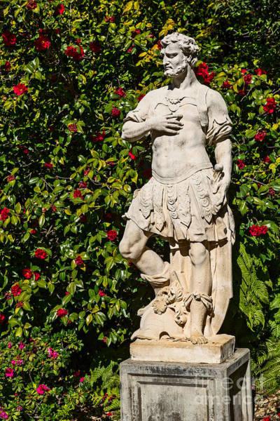 Wall Art - Photograph - Garden Statue by Jamie Pham