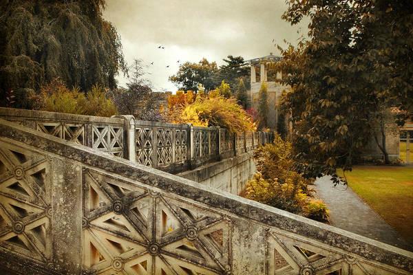 Photograph - Garden Terrace by Jessica Jenney