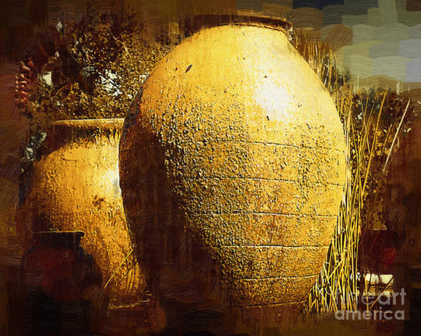 Painting - Garden Urns by Kirt Tisdale