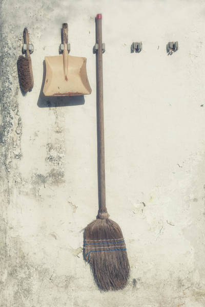 Broom Photograph - Gardening by Joana Kruse