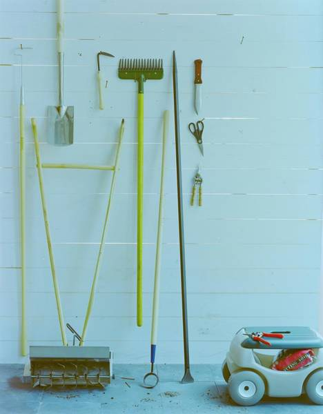 Photograph - Gardening Tools by Romulo Yanes