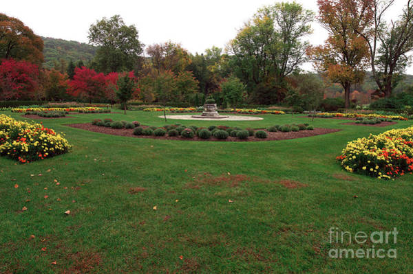 Photograph - Gardens At The Botanical Garden by John Rizzuto
