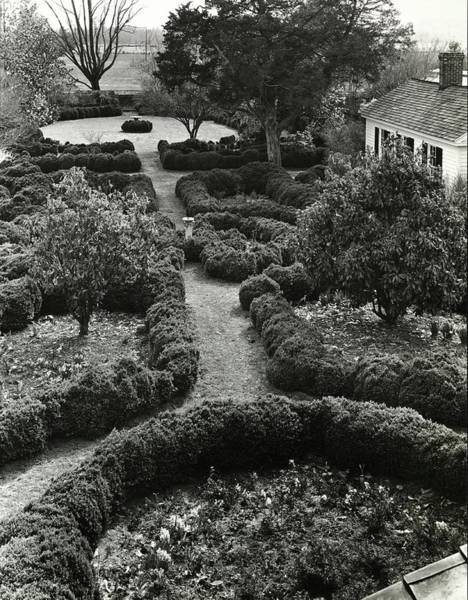 Landscape Architecture Photograph - Gardens Of The Chelsea Plantation by Ralph Bailey