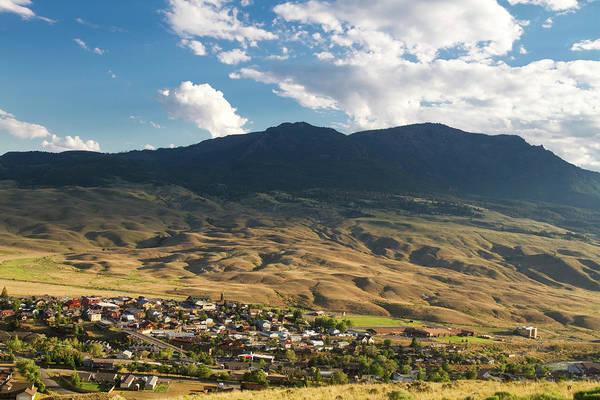 Small Town Usa Photograph - Gardiner, Montana Overview by Mark Miller Photos