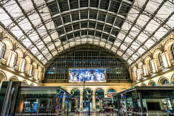 Digital Art - Gare Du L'est by Ray Shiu