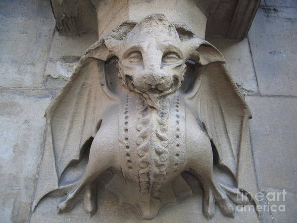 Photograph - Gargoyle On Westminster Palace by Denise Railey