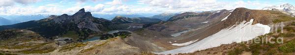 Photograph - Garibaldi Black Tusk Panorama by Adam Jewell
