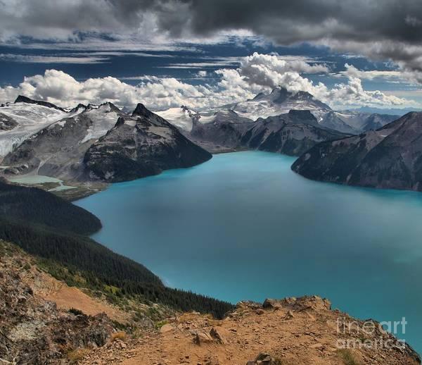 Photograph - Garibaldi British Columbia Panorama Point by Adam Jewell