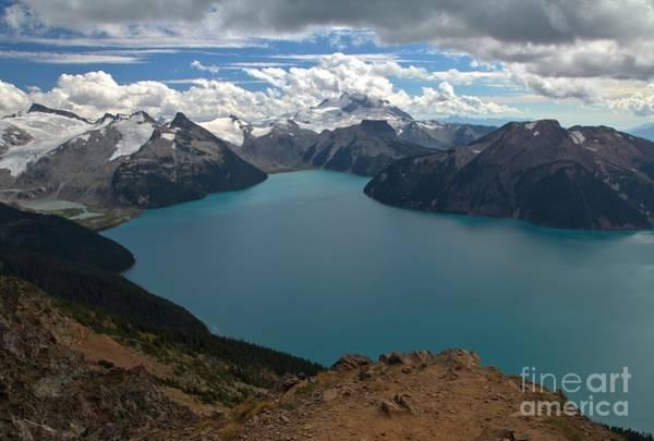 Photograph - Garibaldi Canadian Coastal Mountain Lakes by Adam Jewell