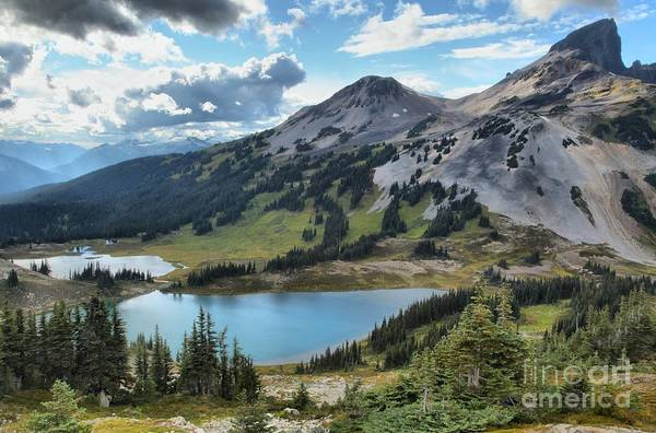 Photograph - Garibaldi Glacier Mountain Lakes by Adam Jewell