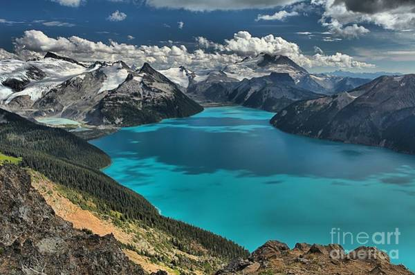Photograph - Garibaldi Lake At Garibaldi Provincial Park by Adam Jewell