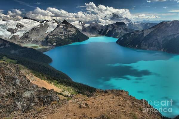 Photograph - Garibaldi Lake British Columbia Canada by Adam Jewell