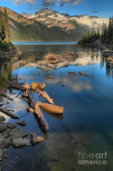 Photograph - Garibaldi Lake Portrait by Adam Jewell