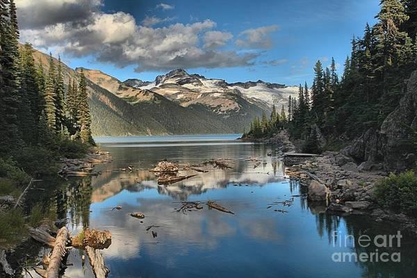 Photograph - Garibaldi Lake Reflections by Adam Jewell