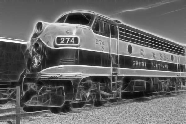 Photograph - Garibaldi Locomotive 2 by Wes and Dotty Weber
