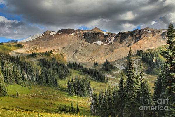Photograph - Garibaldi Panorama Ridge Approach by Adam Jewell