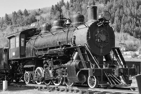 Photograph - Garibaldi Steam Locomotive by Wes and Dotty Weber