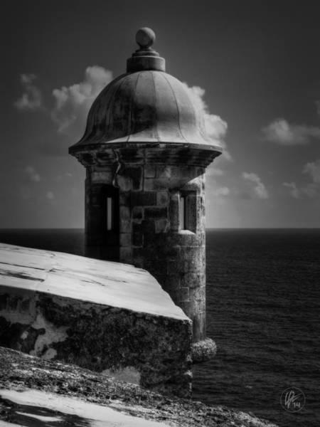 Photograph - Garita Del Morro 001 Bw by Lance Vaughn