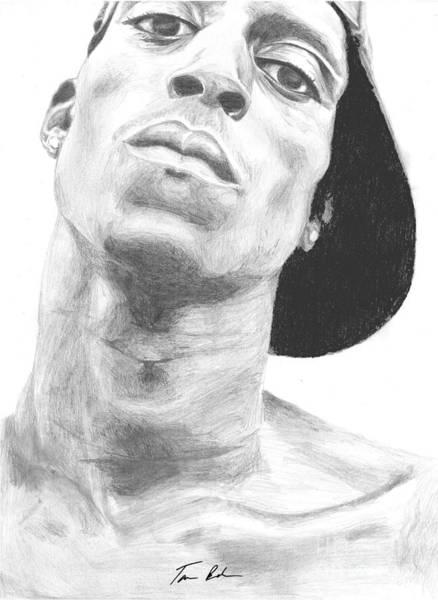 Nba Drawing - Garnett 3 by Tamir Barkan