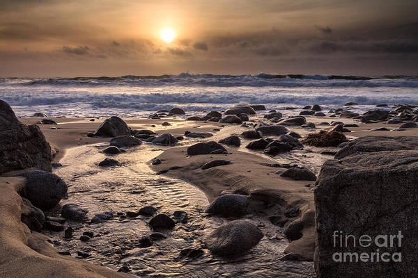 Photograph - Garrapata Sunset by Stuart Gordon