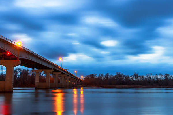 Photograph - Garrison Ave. Bridge by Larry McMahon